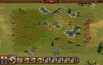 Einheiten in einem strategischen Kampf