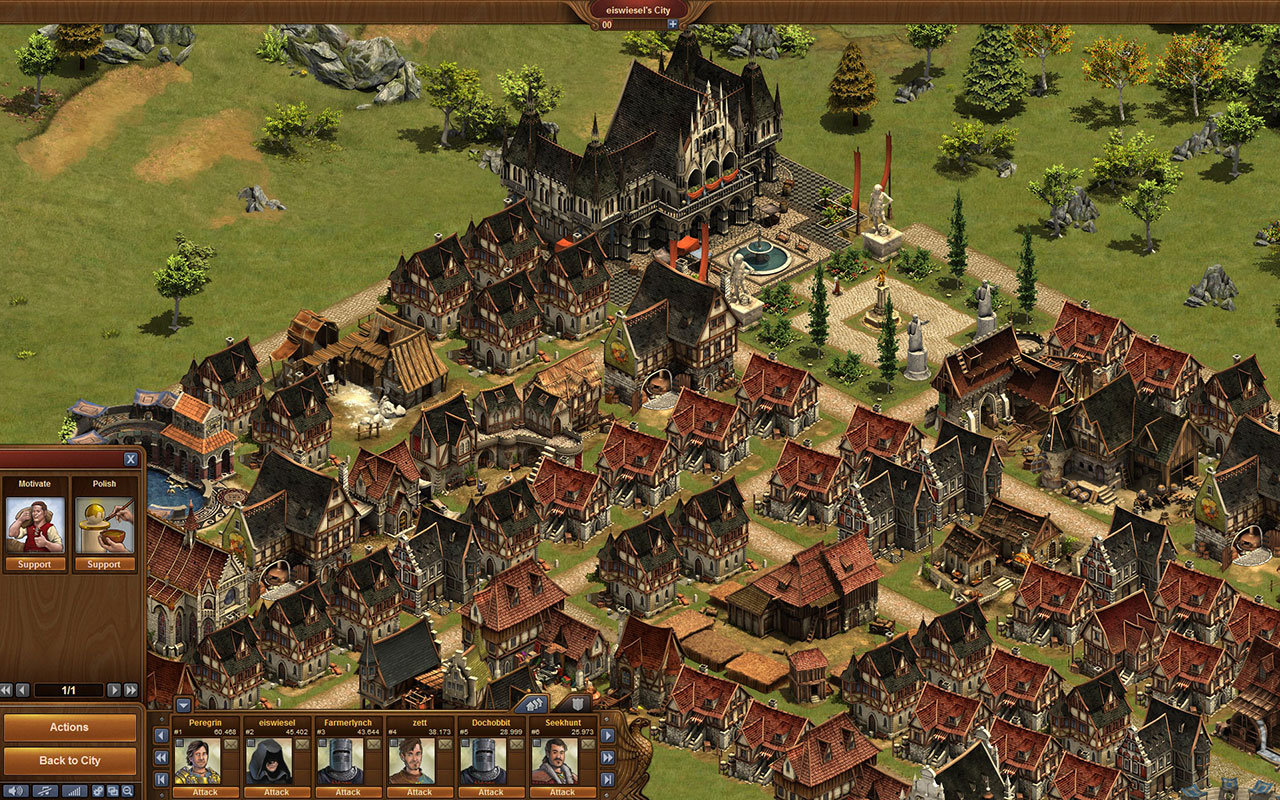 Real Time City Building Games